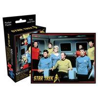 【USA直輸入】スタートレック キャスト 100ピース ポケット パズル スポック スタトレ  Star Trek TOS  カーク船長 マッコイ ウフーラ スポック 宇宙大作戦