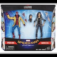 【USA直輸入】MARVEL マーベル レジェンド シリーズ スパイダーマン ホームカミング スパイダーマン & MJ 6インチ アクション フィギュア Legends Spider-Man ミシェル