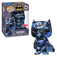 【USA直輸入】POP! DC BATMAN アート シリーズ 04 ブルー ブラックー 迷彩 FUNKO ファンコ フィギュア バットマン バットサイン バットシグナル DCコミックス  限定品
