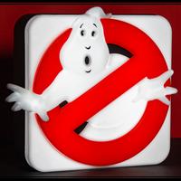 【USA直輸入】Ghostbusters ゴーストバスターズ ロゴ 3D デスクランプ 壁掛け 看板 パネル ランプ ライト ルームランプ 映画 マーク おばけ 幽霊