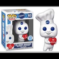 【USA直輸入】POP! AD ICONS Pillsbury Doughboy ピルスベリ― ドゥボーイ ハート 93 フィギュア FUNKO ファンコ アド 企業 ポッピン・フレッシュ