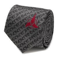 【USA直輸入】スタートレック クリンゴン  ネクタイ シルク cufflinks カフリンクス star trek アパレル スーツ