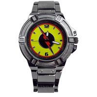 【USA直輸入】DCコミック リバース フラッシュ シンボル カラー FLASH メタルバンド リストウォッチ 腕時計 ロゴ 海外ドラマ 正規ライセンス  DC  リバースフラッシュ
