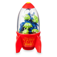 【USA直輸入】Disney トイストーリー グリーンメン 消しゴム クレーンゲーム型ケース toystory ディズニー  ウッディ バズ  スペース エイリアン