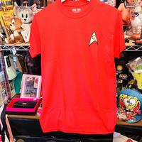 【USA直輸入】スターレック 技術班 赤服 コスプレ Tシャツ STAR TREK