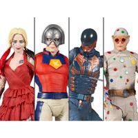 【※ご予約商品】DCコミックス ザ スーサイドスクワッド 4種セット ビルド キングシャーク マルチバース 7インチ アクション  フィギュア DC マクファーレントイズ   2021 極悪党 集結