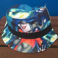 【USA直輸入】 DCコミックス  ハーレイクイン  バケットハット  帽子 DC コミック