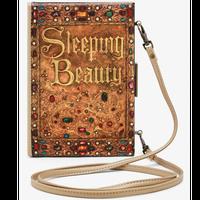 【USA直輸入】DISNEY 眠れる森の美女 ストーリーブック クラッチバッグ ショルダーバッグ ディズニー ラウンジフライ  Loungefly 肩掛け バッグ オーロラ姫 プリンセス