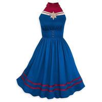 【USA直輸入】MARVEL キャプテンマーベル ロゴ ワンピース キャプテン マーベル アベンジャーズ ドレス