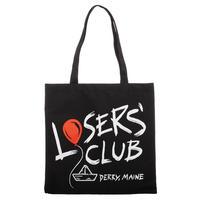 """【USA直輸入】 IT  イット """"それ""""が見えたら、終わり。 ペニーワイズ   Losers' Club キャンバス トート バック ホラー 映画  Loser / Lover バッグ"""