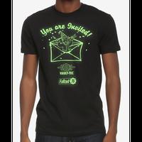 【USA直輸入】フォールアウト 76  インヴィテイション ロゴ Tシャツ   Mサイズ Fallout 76  GAME ゲーム ボルトボーイ 招待 Vault-Tec 111