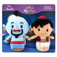 【USA直輸入】DISNEY アラジン ジーニー 2セット ぬいぐるみ ittybittys ディズニー 約10cm hallmark  Aladdin