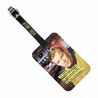 【USA直輸入】スタートレック ジェームズ T カーク 船長 スタトレ  Star Trek カードホルダー ラゲッジタグ ラゲージタグ タグ ジム 艦長 宇宙大作戦 TOS