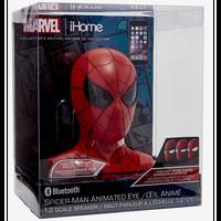 【USA直輸入】MARVEL スパイダーマン ブルートゥース スピーカー & アニメーション アイ 1/2スケール ヘッド ihome  フィギュア マーベル   Spider-Man