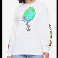 【USA直輸入】MARVEL Earth's Mightiest Heroes アベンジャーズ グローバルヒーロー ロングスリーブ 長袖 シャツ マーベル MCU アイアンマン ホークアイ