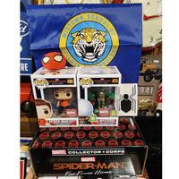 【USA直輸入】MARVEL FUNKO マーベル コレクターコープス スパイダーマン ファーフロムホーム POP!  フィギュア ポップ バックパック ミステリオ ファー・フロム・ホーム