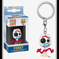 【USA直輸入】ポケットPOP! キーチェーン DISNEY トイストーリー フォーキー Forky FUNKO   Toy Story  ディズニー ピクサー キーホルダー ポップ