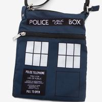 【USA直輸入】ドクターフー ターディス Police Public Call Box クロスボディ バッグ バック ショルダーバッグ 海外ドラマ Doctor Who TARDIS
