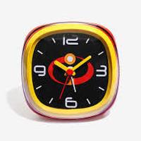 【USA直輸入】 DISNEY ミスターインクレディブル ファミリー 置時計 アラームクロック