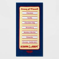 【USA直輸入】ストレンジャーシングス シーズン3 Scoops Ahoy スクープス・アホイ Ocean of Flavors メニュー表 ビーチタオル Stranger Things タオル