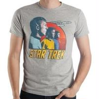 【USA直輸入】スタートレック 宇宙大作戦 TOS Tシャツ スポック カーク マッコイ エンタープライス スタトレ Star Trek