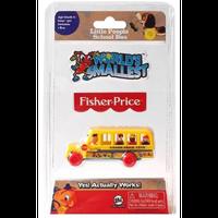 【USA直輸入】World's Smallest  ワールズ・スモーレスト リトルピープル スクールバス ミニ ミニチュア 玩具 おもちゃ ゲーム フィッシャープライス