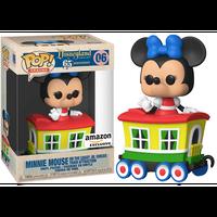 【USA直輸入】 POP! TRAINS DISNEY ディズニーランド リゾート65thアニバーサリー ミニーマウス on ケイシージュニア・サーカストレイン06  ポップ! FUNKO ファンコ