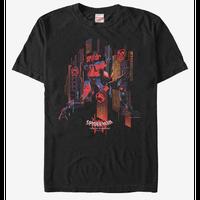 【USA直輸入】MARVEL  スパイダーバース SP//dr シティ Tシャツ スパイダーマン マーベル   SPIDER-VERSE  ペニ・パーカー アース