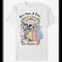 【USA直輸入】DISNEY  プリンセス クラシック ビンテージ グループ Tシャツ ディズニー ベル ジャスミン 白雪姫 オーロラ姫 シンデレラ