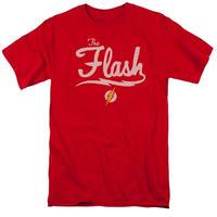 【USA直輸入】DC フラッシュ シンプル ロゴ Tシャツ DCコミックス FLASH