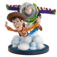 【USA直輸入】DISNEY トイストーリー 25周年アニバーサリー Q-FiG Max ウッディ&バズ・ライトイヤー フィギュア コンタムメカニック Qフィグ Toy Story  ディズニー