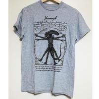 【USA直輸入】Alien エイリアン ウィトルウィウス的人体 Tシャツ Sサイズ 映画