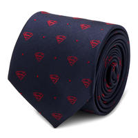 【USA直輸入】DC スーパーマン  ネクタイ シルク cufflinks カフリンクス super man アパレル スーツ