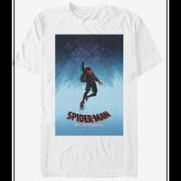 【USA直輸入】MARVEL  スパイダーバース ポスターデザイン マイルス モラレス Tシャツ スパイダーマン マーベル   SPIDER-VERSE