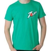 【USA直輸入】ドリンク 7UP Tシャツ Sサイズ ロゴ セブンアップ