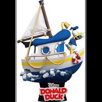 【USA直輸入】 DISNEY ディズニー ビーストキングダム  D-STAGE Dステージ  シリーズ 「  ドナルドダック ボート  」 DS-029 ジオラマ スタチュー フィギュア ドナルド