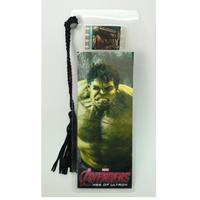 【USA直輸入】MARVEL 映画 アベンジャーズ AOU ハルク Hulk フィルム ブックマーク Movie Film マーベル エイジ オブ ウルトロン
