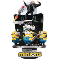 【USA直輸入】 Minions ミニオンズ  ビーストキングダム  D-STAGE Dステージ  シリーズ 「月泥棒 」 DS-050 ジオラマ スタチュー フィギュア ミニオン グルー