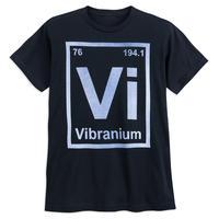 【USA直輸入】MARVEL キャプテンアメリカ ヴィブラニウム Vibranium Tシャツ ブラックパンサー マーベル