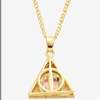 【USA直輸入】ハリーポッター 死の秘宝 ブリング ネックレス ネックレス ペンダント  アクセサリー