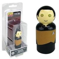 【USA直輸入】STAR TREK スタートレック 新スタートレック データ 12  Pin Mate ピン メイト 2インチ 木製 フィギュア Pin Mates ピンメイト TNG アンドロイド