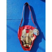 【USA直輸入】アイアンマン 2 フェイス型 ハンドバッグ マーベル MARVEL バッグ アイアンマン トニースターク スーツ