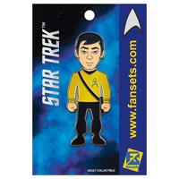 【USA直輸入】スタートレック スールー カトウ ピンズ スタトレ  Star Trek ピン Sulu デフォルメ Pin