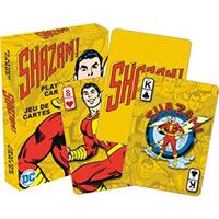 【USA直輸入】DC シャザム Shazam  トランプ レトロスタイル ビリー・バットソン カード DCコミックス