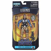 【USA直輸入】MARVEL マーベル レジェンド シリーズ  ブラックパンサー エリック・キルモンガー アクションフィギュア 6インチ Legends  Series  Black Panther