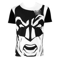 【USA直輸入】DC バットマン Tシャツ フェイス アップ BATMAN DCコミックス