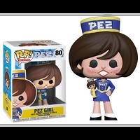 【USA直輸入】POP! PEZ  AD ICONS PEZ GIRL 80 ポップ フィギュア FUNKO ファンコ 企業  ペッツガール ガール 女の子 ユニフォーム