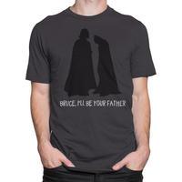 【USA直輸入】DC ダースベイダー バットマン ブルース  I'll Be Your Father  Tシャツ DCコミックス   スターウォーズ STARWARS