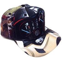 【USA直輸入】STARWARS スターウォーズ 総柄 ダースベーダー ロゴ ハット キャップ 帽子 スナップバック