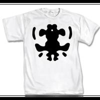 【USA直輸入】DC ウォッチメン Rorschach ロールシャッハ マスクの染み タイプA Tシャツ Sサイズ DCコミックス  ウォルター・コバックス インク